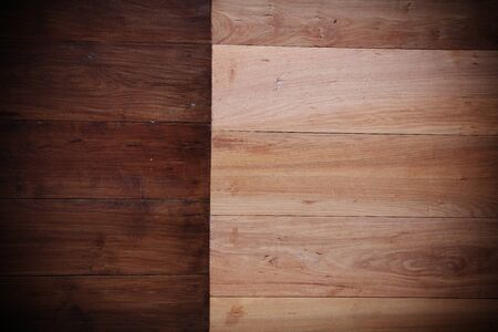 dark ages: Wooden textured Background, soft and dark brown color Stock Photo