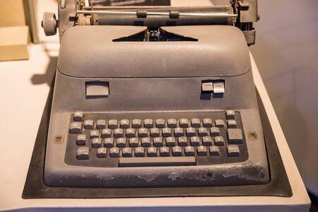Old Typewriter Machine with the retro style Reklamní fotografie