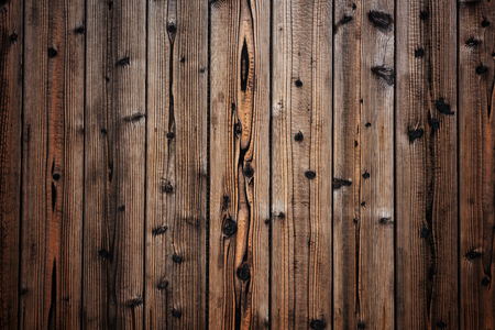 Wooden pine log wall for Textured abstract background Stock Photo