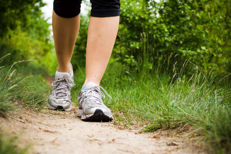 spring training: Walking Cross Country and Trail