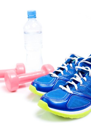 Stay fit with exercises, fitness concept Stock Photo - 7712160