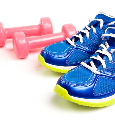 Stay fit with exercises, fitness concept Stock Photo - 7712168