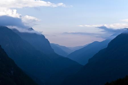 himalayas: Himalaya Mountains landscape, Nepal