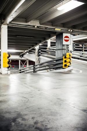 Parking garage in basement, underground inter Stock Photo - 16221082