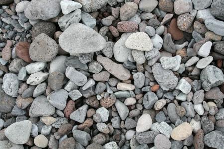 various marine pebbles