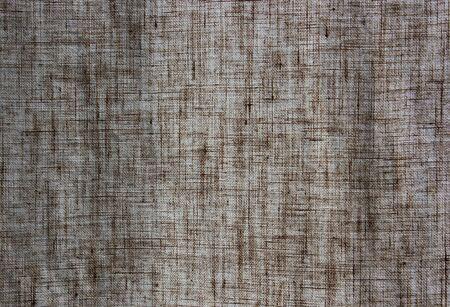 texture of linen curtain Stock Photo