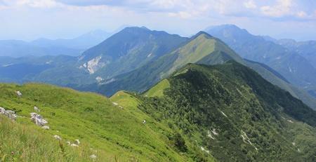 julian: Kobariski Stol and Muzec mountains, Julian Alps, Slovenia