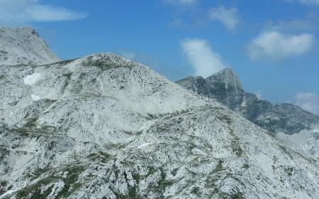 Krn Mountains - World War I battlefield, Julian Alps, Slovenia