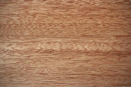 Wood surface, okoume, Aucoumea klaineana  - horizontal lines Stock Photo