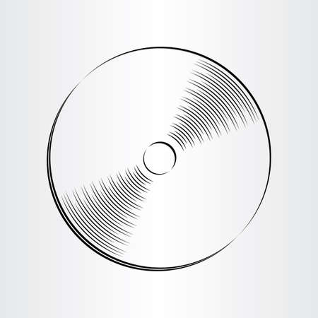 blueray: compact disc dvd cd icon design element