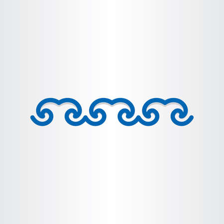 blue water waves surf ocean abstract design