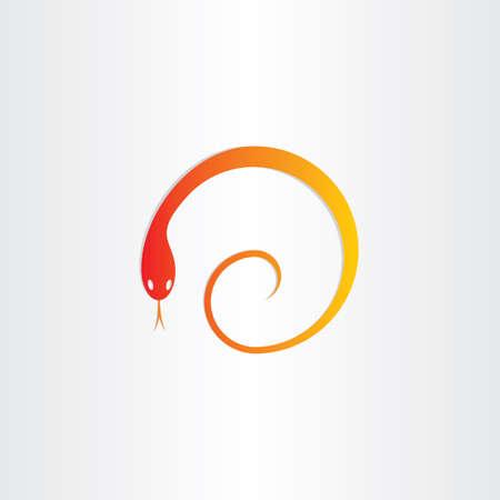 pharmacy symbol: snake in spiral pharmacy symbol design