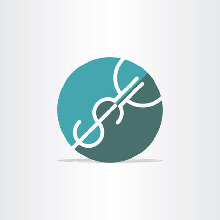usd: money exchange usd to euro bank symbol design Illustration