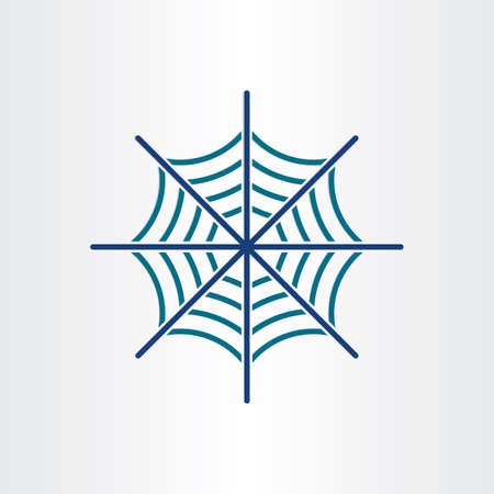 spider web: spider web target icon design element