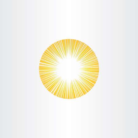 sun energy: sunshine rays sun icon solar energy symbol