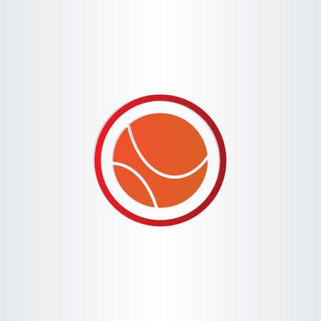 abstract basketball vector symbol design photo