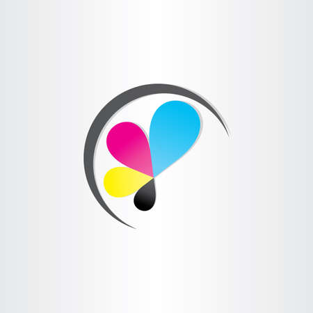 printing icon printhouse ink symbol design