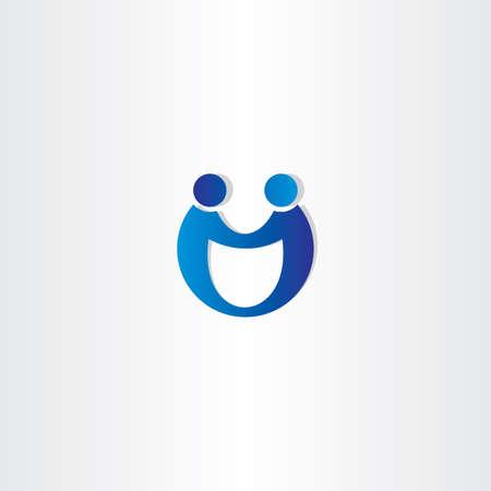 business partners shaking hands icon design Illustration