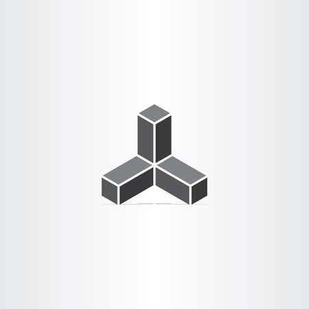 building structure: black buildings business vector icon design