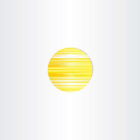 sun energy: sun icon abstract energy symbol design