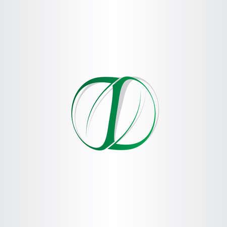 symetry: spring green symetry leaves icon design Illustration