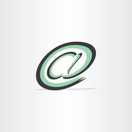 e mail: e mail internet stylized symbol design