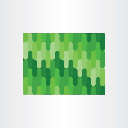 grange: green abstract seamless pattern background design Illustration