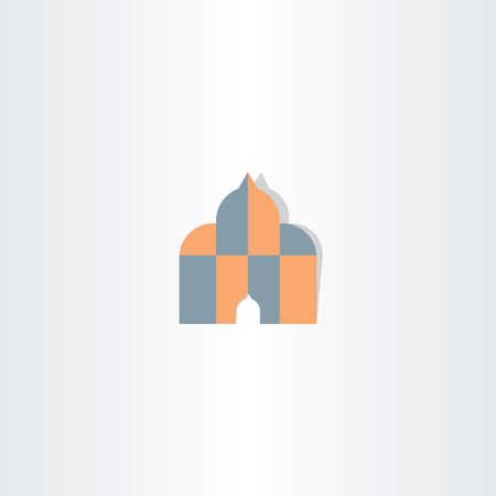 house of god: islam house of god icon symbol religious