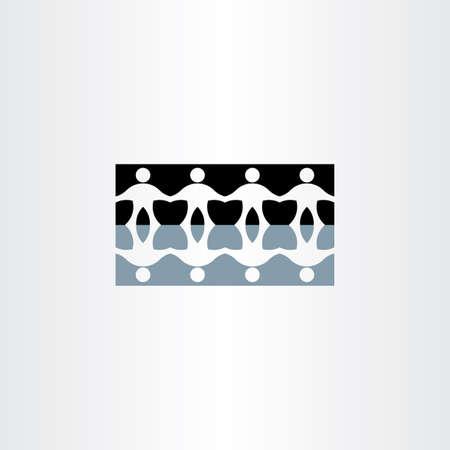 people holding hands: people holding hands reflection icon symbol