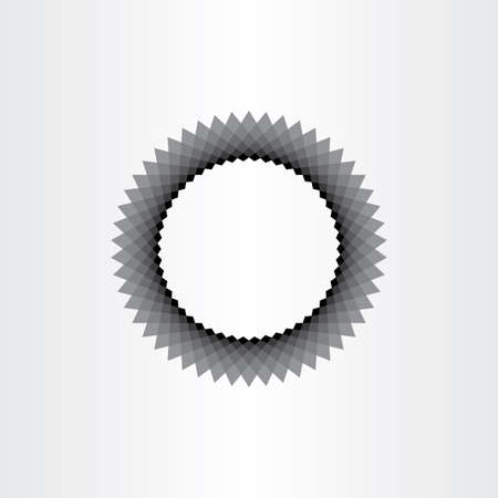 black hole: abstract black hole circle background vector element