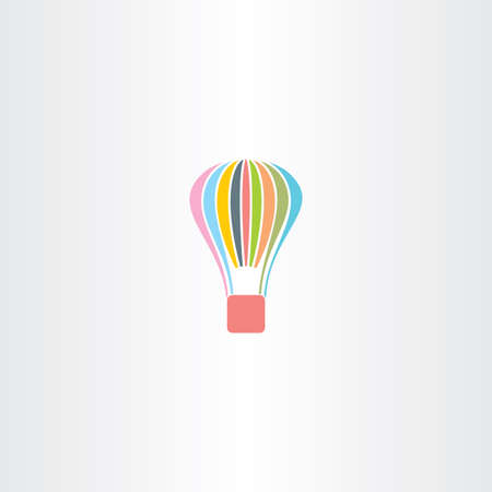 airplay: colorful parachute vector icon sport Illustration