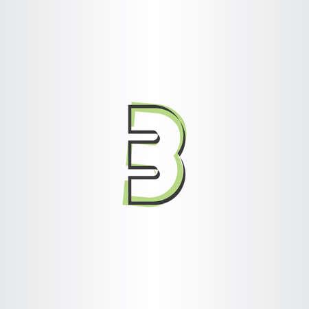 number 3 three third vector icon symbol