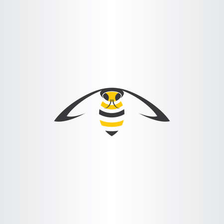 wasp: flying wasp vector icon insect