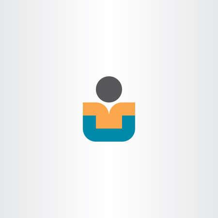 child sitting: child sitting vector icon design student Illustration