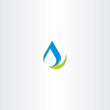 cleanse: fresh water icon logo sign vector design Illustration