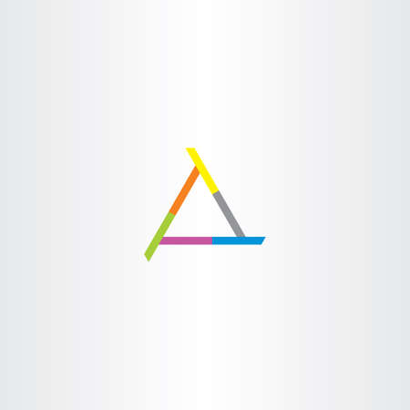 logo vector: business company triangle abstract vector logo shape Illustration