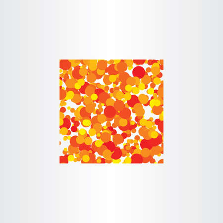red yellow: red yellow circles vector background