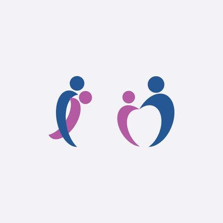 couple in love icon illustration element symbol design