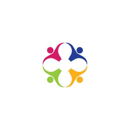 team people icon vector symbol Ilustração
