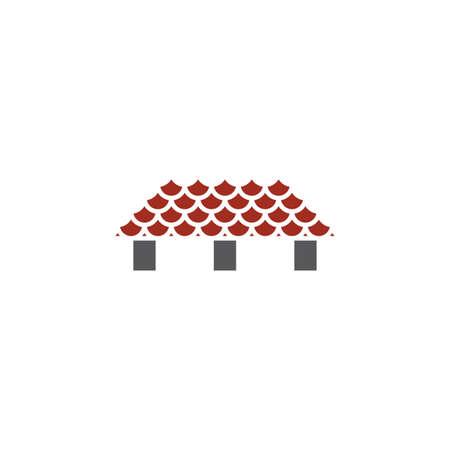 house roofing  symbol vector design element