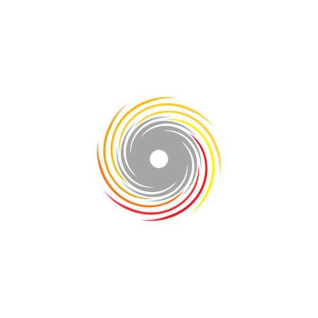 circular cutting saw with sparks icon Ilustração Vetorial