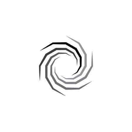 spiral hole vector icon symbol Ilustração Vetorial