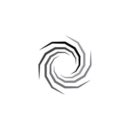 symbole d'icône de vecteur de trou en spirale Vecteurs