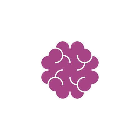 cancer cell tissue icon vector logo