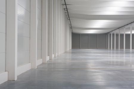 empty logistick hall