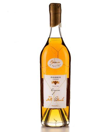 Bratislava, SLOVAKIA,august 20, 2019 : Godet cognac folle blanche original Editorial