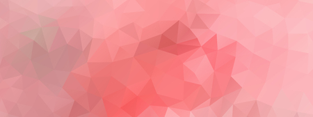 wide screen: Abstract polygonal background vector  light pink wide screen Illustration