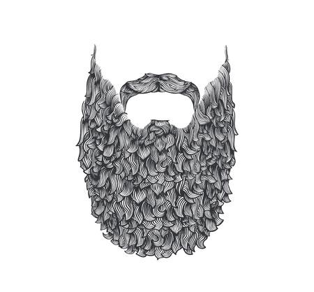 Longue barbe Banque d'images - 45988211