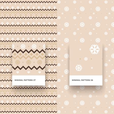 Modèles sans couture de noël traditionnels joyeux avec cerfs et formes géométriques Banque d'images - 88450542