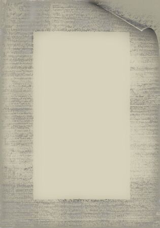 古い紙。別のメニューのリスト、等の専門語のための理想的な背景。 写真素材